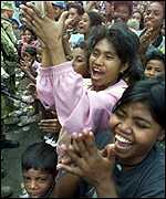 Clapping East Timorese