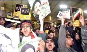 Student supporters of President Khatami