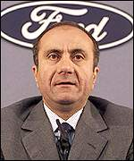 Ford chief Jac Nasser