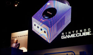 Nintendo hopes its new GameCube will overtake the Playstation