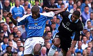 Paulo Wanchope and Carlton Palmer