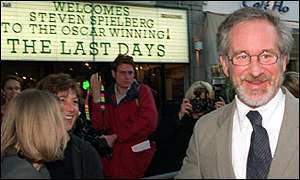 Steven Spielberg in London in 1999