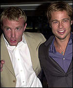 Guy Ritchie with Brad Pitt, star of the latest East End installment