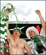 [ image: Victory was sweet for Tom Boyd - one of Celtic's longest serving players]