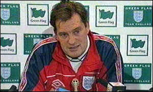 image: [ Glenn Hoddle is a strong believer in the use of specialised diets ]
