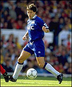 Preki at Everton