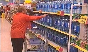 Many people have resorted to buying bottled water
