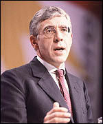 Jack Straw at Labour conference