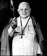 Pope John XXIII: venerated reformer
