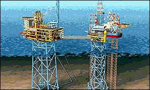 Graphic of the Shearwater platform