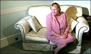 Mo Mowlam in reflective mood after the announcement