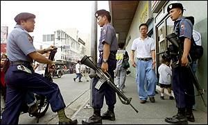 Securitymen in Zamboanga