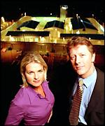 Ruth England and Charlie Stayt