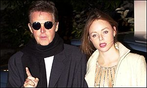 Sir Paul McCartney and daughter, Stella