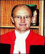 Murdered judge Pieter Theron
