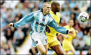 Craig Bellamy and Michael Duberry