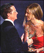 Michael J Fox and Jennifer Aniston