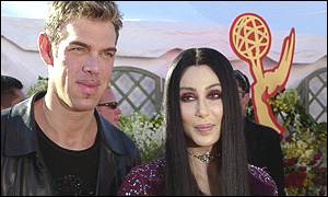 Cher and Kevin Aucoin