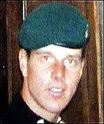 Bombardier Brad Tinnion who died during the military operation to free six British hostages in SLeone