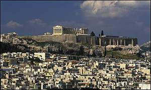 Athens has been warned it could lose the Olympics