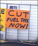 fuel tax message