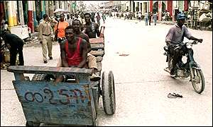 Haiti residents find other ways to get around