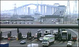 Tolls at Dartford