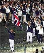 Matthew Pinsent leads in Team GB