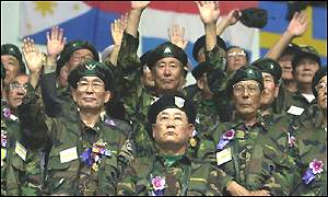 South Korean veterans