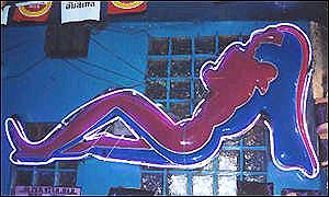 Sex bar in Thailand