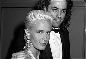 Paula Yates and Bob Gedolf
