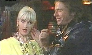 Paula Yates and Michael Hutchene