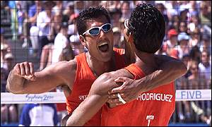 Bbc Sport Photo Gallery Beach Volleyball In Pictures