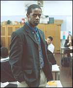 Adrian Lester in a more modern role