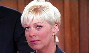 Denise Welch as Natalie in Coronation Street