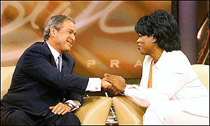George W Bush on the Oprah Winfrey Show