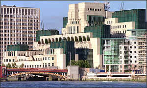 Mi6 HQ, Vauxhall, London