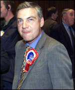 Defeated Ulster Unionist candidate David Burnside