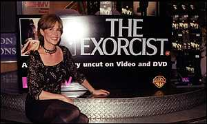 Excorcist star Linda Blair