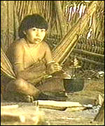 Yanomami woman