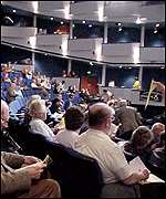 Delegates at the SNP conference