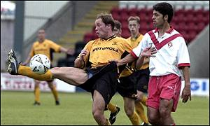 Airdrie get to grips with Livingston's Marino Keith