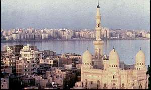 View of Alexandria