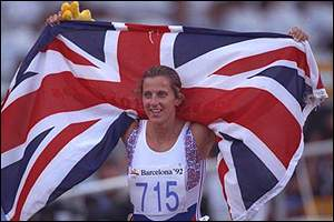 Sally Gunnell - the golden girl of Barcelona
