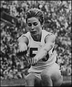 Mary Rand jumped for joy in 1964