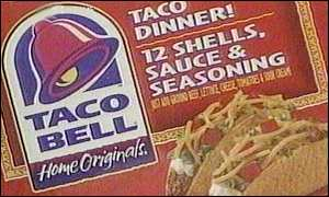 Taco Bell chain of restaurants