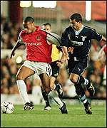 Thierry Henry and Dejan Stankovic