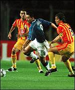 Michael Mols was rarely able to shake free