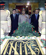 tomb of late Egyptian President Gamal al Nasser
