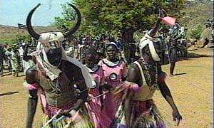 image: [ The people of Nuba celebrate the anniversary of their rebellion ]